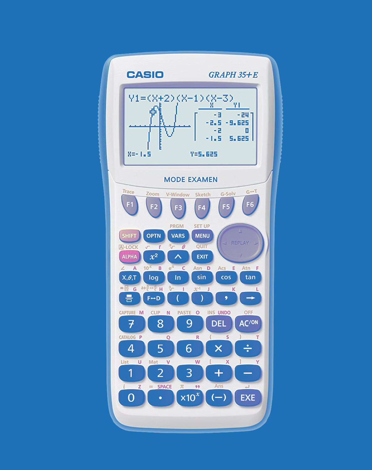 Calculatrice CASIO GRAPH35